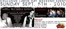 King of Kumbia DJ Kane and Chris Perez perform Exclusive Labor Day Concert @ El Fuerte in S.A.